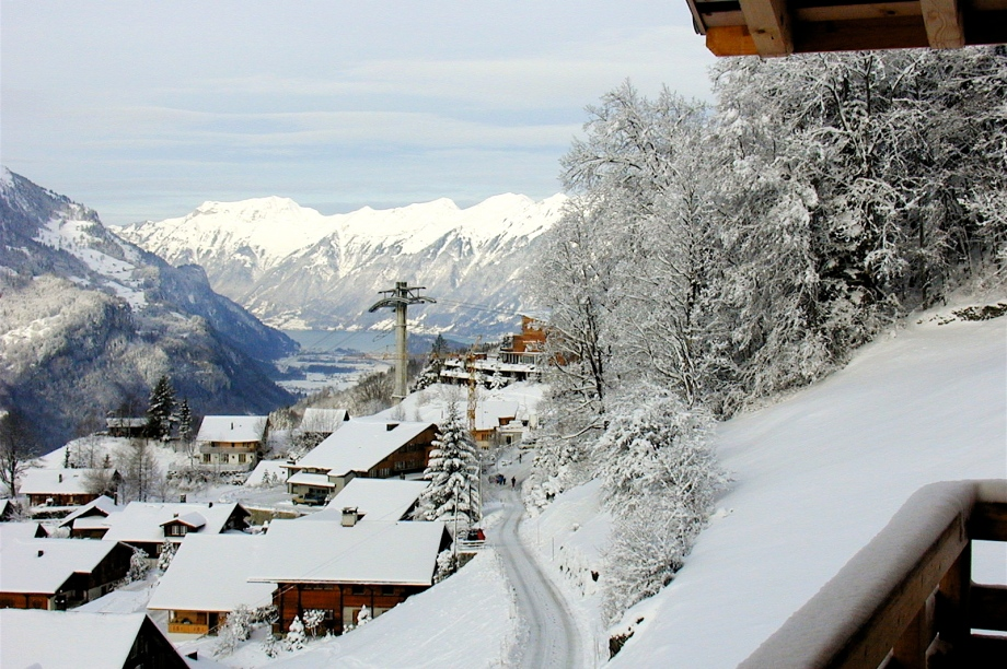 Chalet Tennhorn Snowmorning