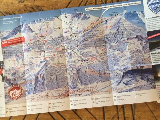 SkigebietKarte